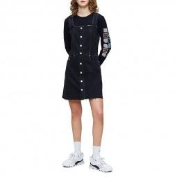 Robe Calvin Klein en jean noire
