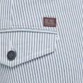 Pantalon en toile Jack & Jones rayé bleu blanc