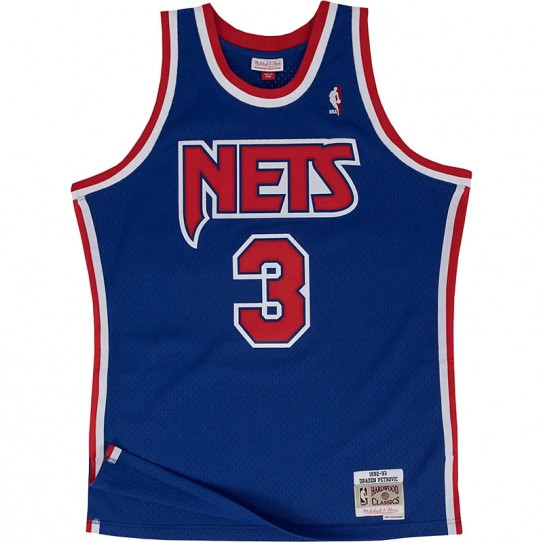 Brooklyn Nets 1992-93 Drazen Petrovic