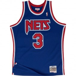 Brooklyn Nets 1992-93 Drazen Petrovic n°3 bleu