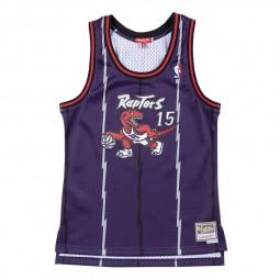 Toronto Raptors 1998-99 Vince Carter femme violet
