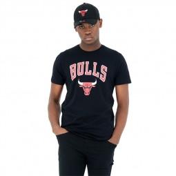 T-shirt New Era Chicago Bulls noir