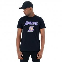T-shirt New Era Los Angeles Lakers noir