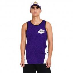 Débardeur New Era Los Angeles Lakers violet