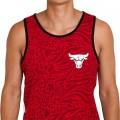 Débardeur New Era Chicago Bulls rouge