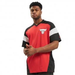 T-shirt New Era Chicago Bulls rouge