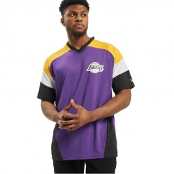 T-shirt New Era Los Angeles Lakers violet