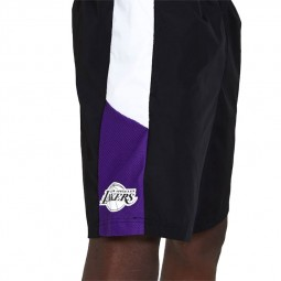Short New Era Los Angeles Lakers noir violet