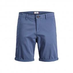 Short chino Jack & Jones bleu délavé