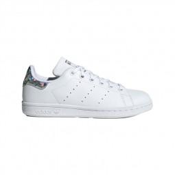Adidas Stan Smith Junior blanc talon irisé