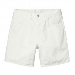 Short Carhartt WIP Newel Short blanc crème