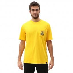 T-shirt Dickies Tarrytown jaune
