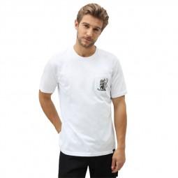 T-shirt Dickies Tarrytown blanc