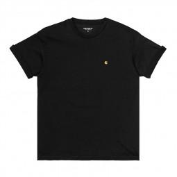 T-shirt Carhartt Chasy Femme noir