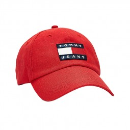Casquette Tommy Hilfiger Heritage rouge