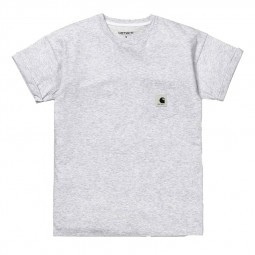 T-shirt Carhartt WIP Carrie Femme gris chiné