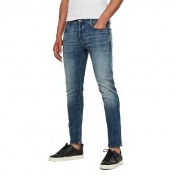 Jeans G-Star 3301 Slim bleu délavé