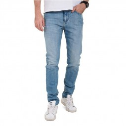 Jeans Teddy Smith Kurt Skinny bleu délavé