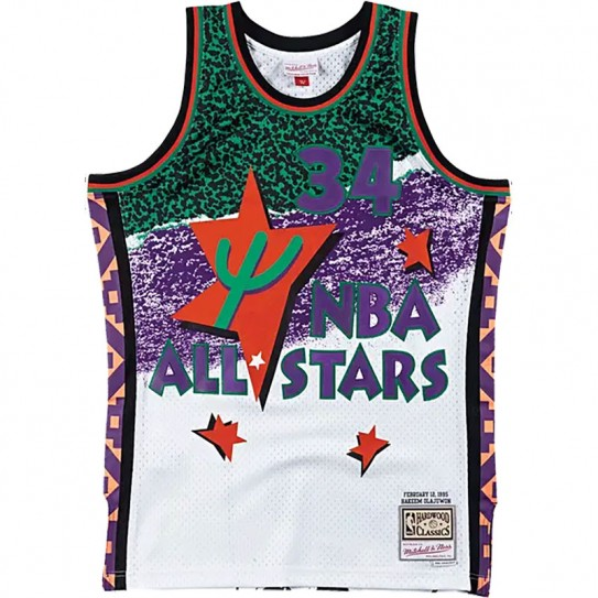Hakeen Olajuwon All Star West 34 HOL