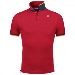 Polo KWAY Vincent rouge