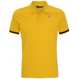 Polo KWAY Vincent jaune