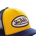 Casquette baseball Von Dutch Colors jaune bleu marine