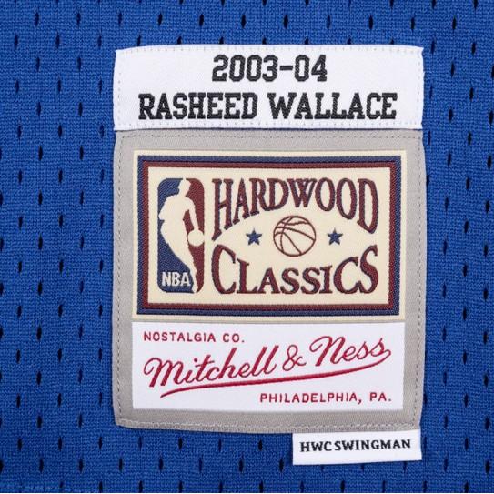 Detroit Pistons Warriors Rasheed Wallace 30