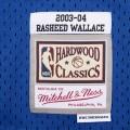 Detroit Pistons Warriors Ben Wallace 3 bleu dur