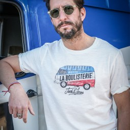 T-shirt Jack & Jones x La Boulisterie van imprimé