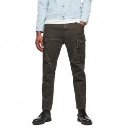 Pantalon treillis G-Star Roxic kaki foncé