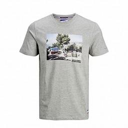 T-shirt Jack & Jones x La Boulisterie gris