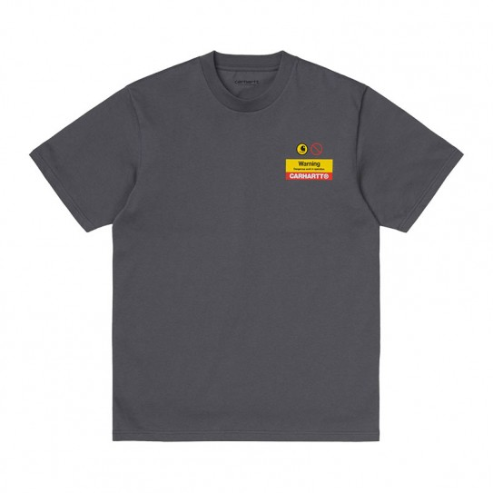 T-shirt manches courtes Carhartt Warning