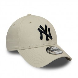Casquette New Era 9Forty New York Yankees beige