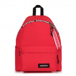 Sac à dos Eastpak Padded Bold Taped rouge