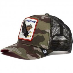 Casquette Goorin Bros Freedom aigle camouflage