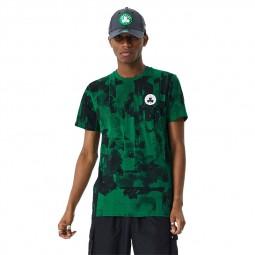 T-shirt New Era Boston Celtics vert & noir