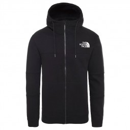 Sweat zippé capuche The North Face noir