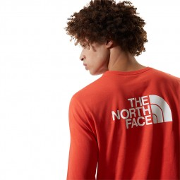 T-shirt The North Face Easy Tee rouge