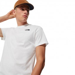T-shirt The North Face Redbox blanc