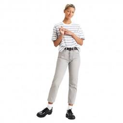 Jean Levi's 501 Crop Jeans gris clair