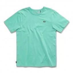 T-Shirt manches courtes Vans Off The Wall vert d'eau