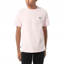 T-Shirt manches courtes Vans Off The Wall rose pâle