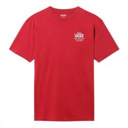 T-Shirt manches courtes Vans Holder rouge