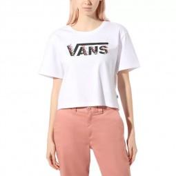 T-Shirt manches courtes Vans Bundlez Bell blanc
