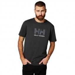 T-shirt Helly Hansen gris foncé