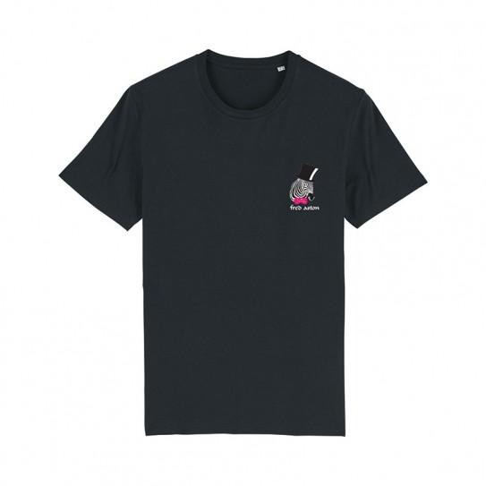 T-shirt Fred Aston zèbre