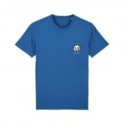 T-shirt Fred Aston bleu panda