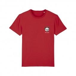 T-shirt Fred Aston rouge panda
