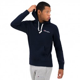 Sweat à capuche molleton Champion bleu marine