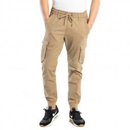 Pantalon cargo Reell Reflex Rib beige